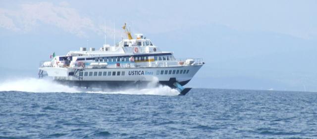Hydroglisseur pour la Sicile