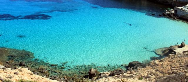 Plage de Lampedusa