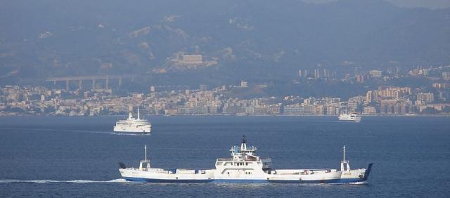 Ferry à Messina