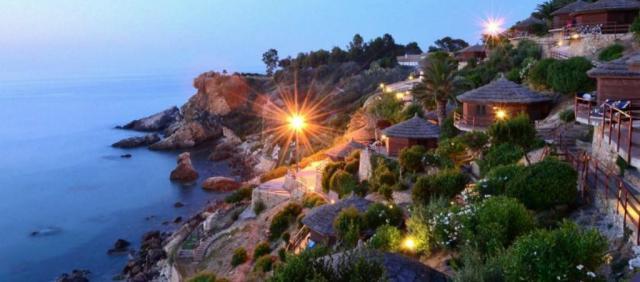 Village vacances sur la mer