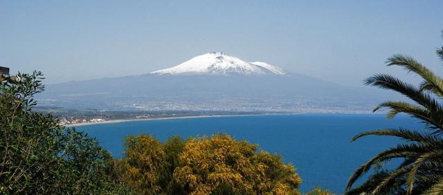 Etna enneigé