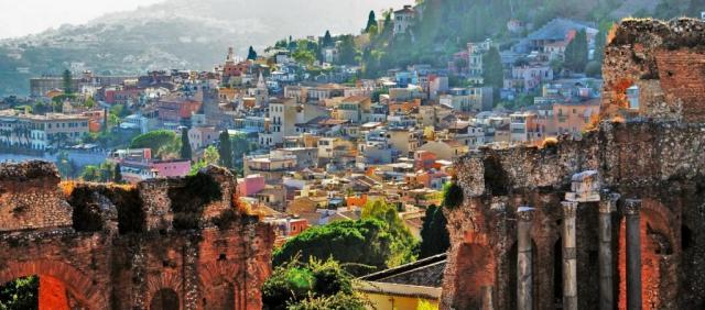 Vue sur Taormine