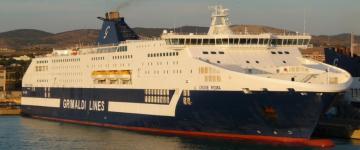 IMG Ferry avec Grimaldi Lines 2019 – Traversées pour la Sicile